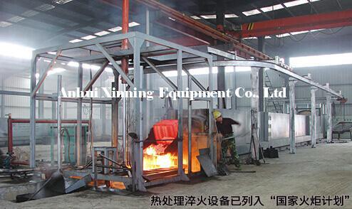钢球淬火生产线
