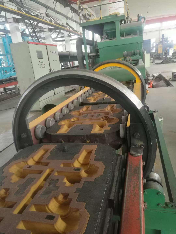 铸球生产线