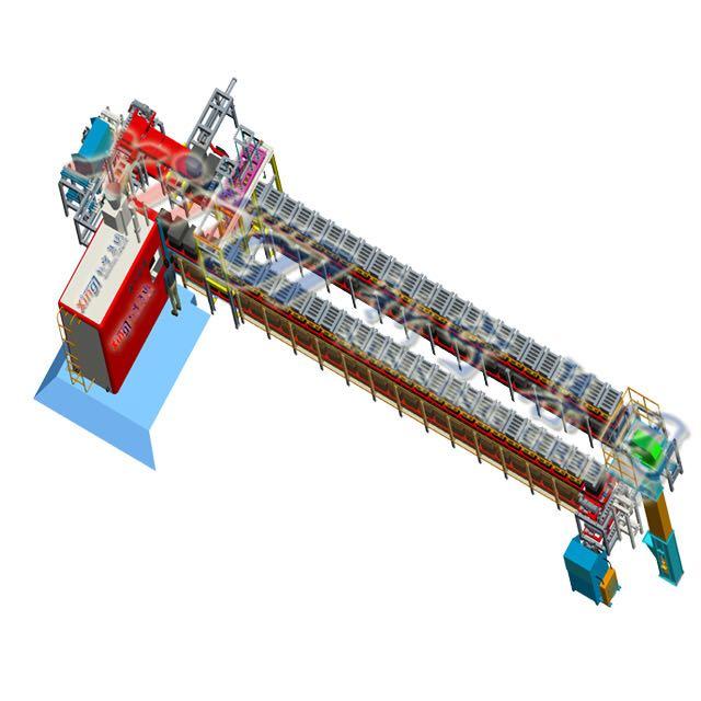 造型机配套生产线